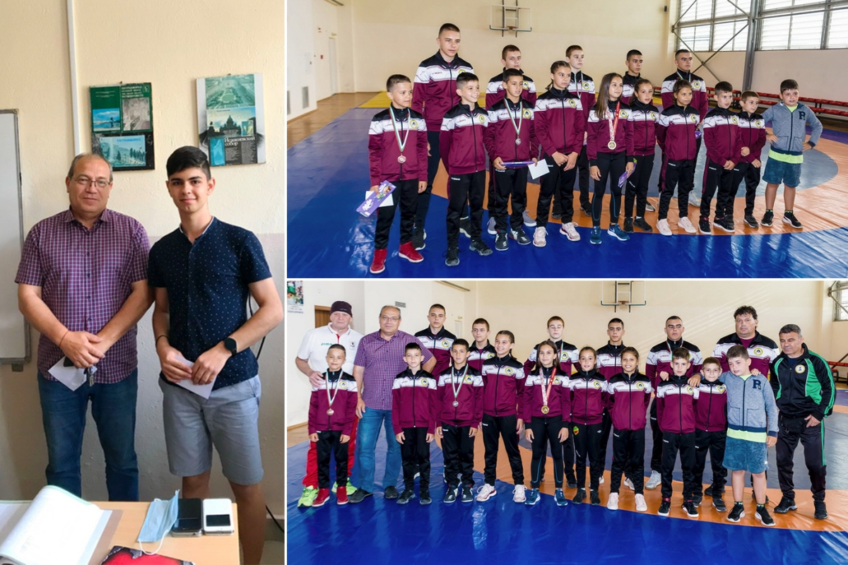 Кметът на община Елхово Петър Киров връчи награди на отличени ученици и спортисти за постигнати високи резултати